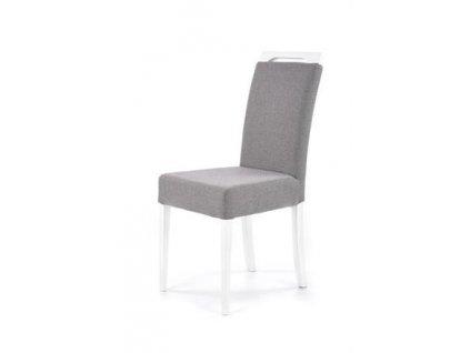 CLARION židle bílá / polstrování: INARI 91