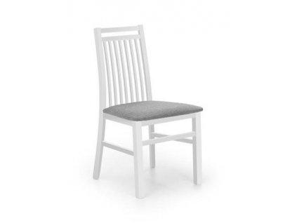HUBERT9 židle bílá / polstrování: Inari 91