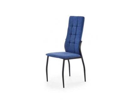 K334 židle tmavě modrá