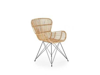 K335 židle Rattan přírodní