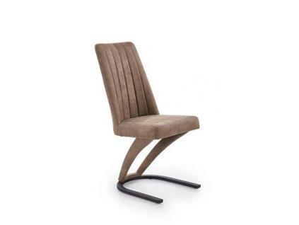 K338 židle hnědá