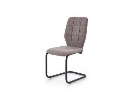 K339 židle šedá