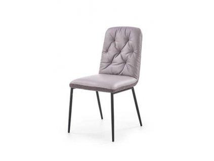 K340 židle světle šedá / šedá