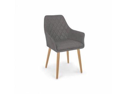 K343 židle šedá