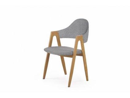 K344 židle šedá