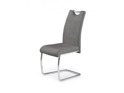 K349 židle šedá