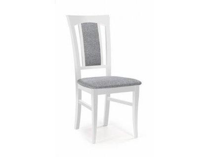 KONRAD židle bílá / polstrování: Inari 91