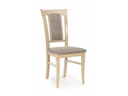 KONRAD židle dub Sonoma / polstrování: Inari 23