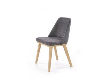 PUEBLO židle dub velbloudí / polstrování. Kreta 10