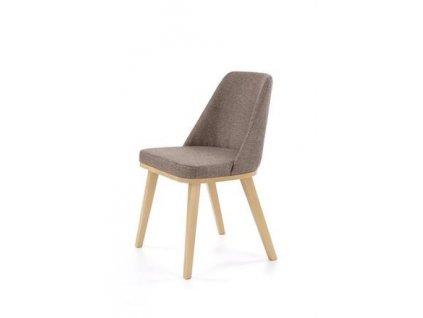 PUEBLO židle dub velbloudí / polstrování. Kreta 13
