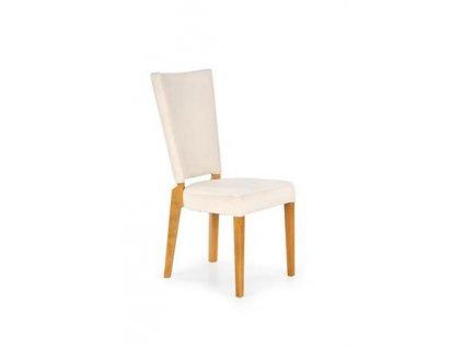 ROIS židle dub velbloudí / krémová