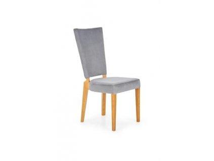 ROIS židle dub velbloudí / šedá