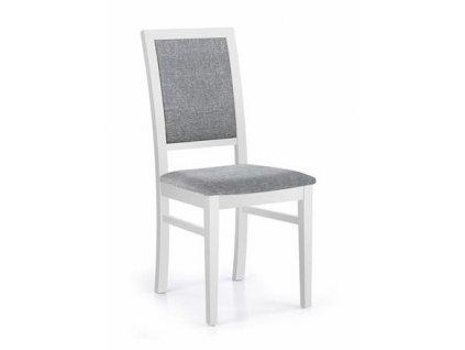 SYLWEK1 židle bílá / polstrování: Inari 91