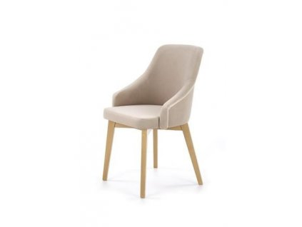 TOLEDO 2 židle dub velbloudí / polstrování. Solo 252
