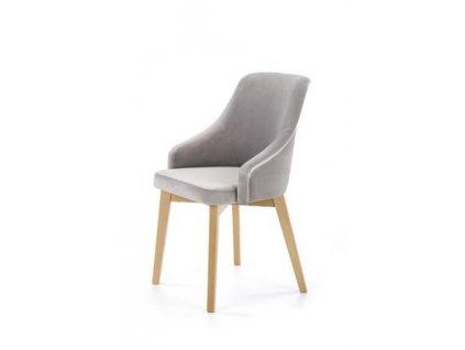 TOLEDO 2 židle dub velbloudí / polstrování. Solo 265