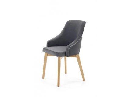 TOLEDO 2 židle dub velbloudí / polstrování. Solo 267