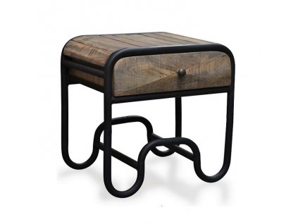Noční stolek Table Christiania raw