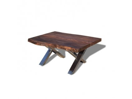Steel The Beast Kávový stolek / Length 100 cm