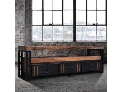 Steel The Beast Tv Skřínka / R5 | Délka: 155 cm
