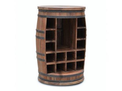 Stojan na víno   Wine Barrel Rosey-Jo