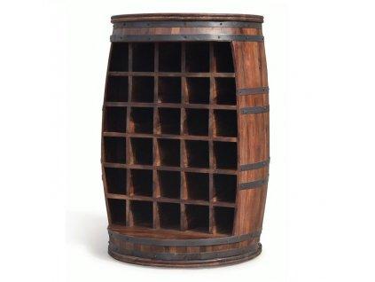 Stojan na víno | Wine Barrel Rosey-O