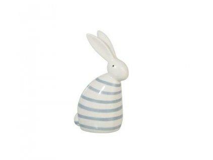 Dekorace Rabbit Strip modrý světlý