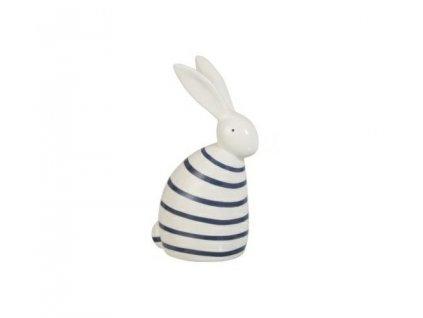 Dekorace Rabbit Strip modrý tmavý