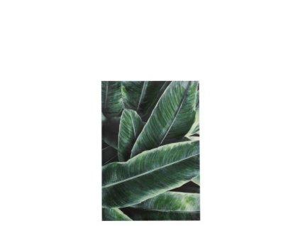 Obrázek dekorační Leaves 100x70cm
