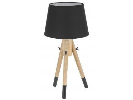 Lampička Intesi Lowe černá