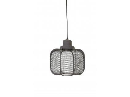 Lampa závěsná Anjali M cement