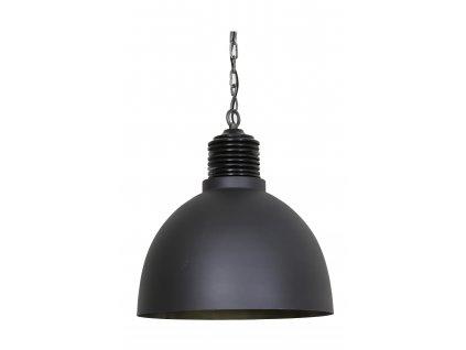 Lampa závěsná Avery cement/antická zinek