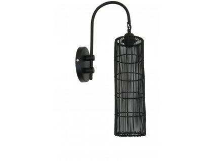 Nástěnná Lampa Sytha matná černá