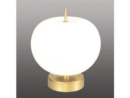 Exkluzivní lampa LED stolní zlato bílá - Apple T