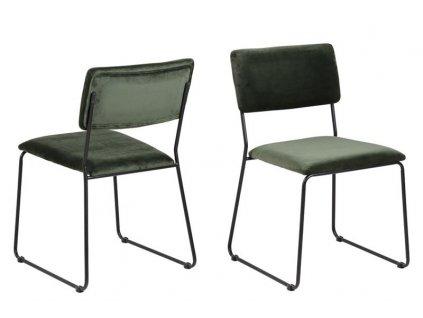 Židle Cornelia Vicente Lesní zeleň