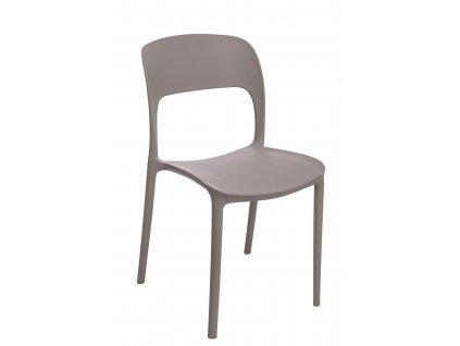 Židle Flexi šedá