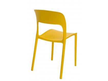 Židle Flexi žlutá