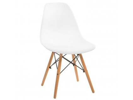 Židle Simplet P016V basic bílá