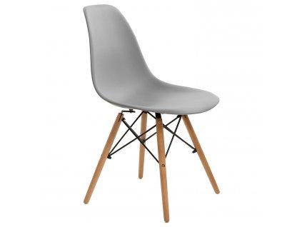Židle Simplet P016V basic šedá