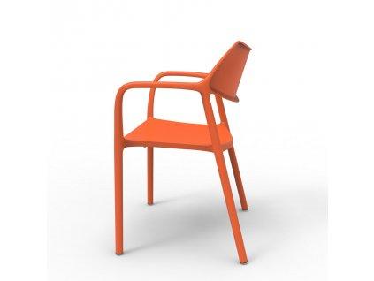 Židle Splash Aire oranžová