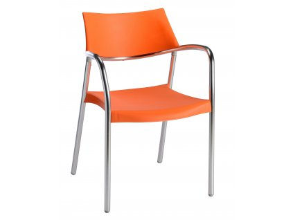 Židle Splash oranžová