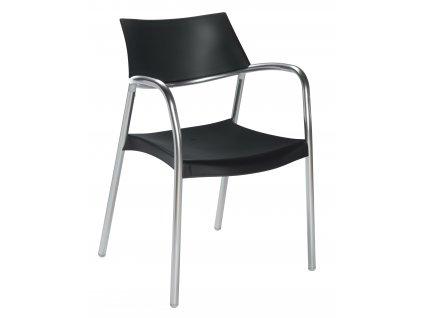Židle Splash černá