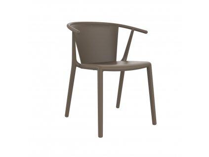Židle Steely hnědá