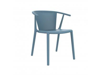 Židle Steely modrá