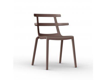 Židle Tokio hnědá