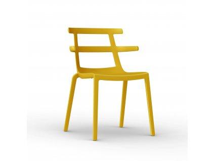 Židle Tokio žlutá