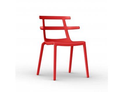 Židle Tokio červená