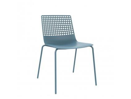 Židle Wire 4 modrá