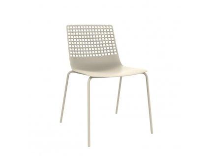 Židle Wire 4 světle béžová