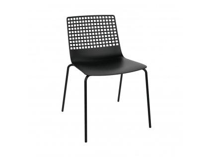 Židle Wire 4 černá