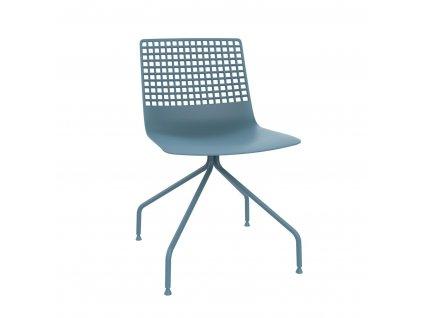 Židle Wire Arana modrá